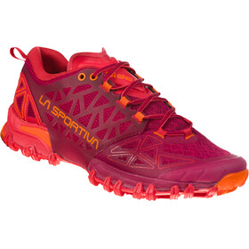 La Sportiva Bushido II Naiset Juoksukengät , oranssi/punainen